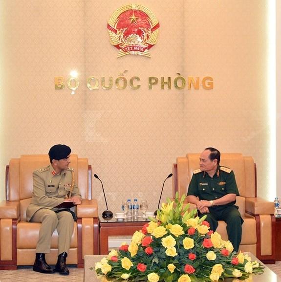 Fortaleceran Vietnam y Pakistan la cooperacion en Defensa hinh anh 1