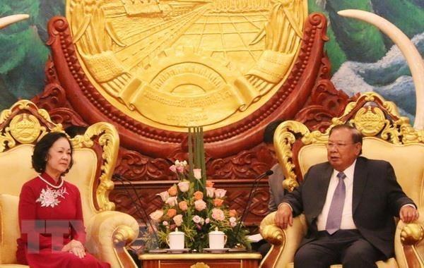 Laos atesora sus relaciones con Vietnam, dicen dirigentes hinh anh 1
