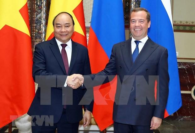 Proyectan Vietnam y Rusia fortalecer y diversificar la cooperacion bilateral hinh anh 1