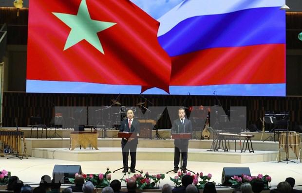 Inauguran en Moscu Ano de la Amistad Vietnam-Rusia hinh anh 1