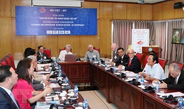 Impulsan cooperacion entre empresas vietnamitas y estadounidenses hinh anh 1
