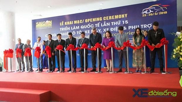 Inauguran en Vietnam Exposicion Internacional de Automoviles, Motocicletas, e Industria Auxiliar 2019 hinh anh 1