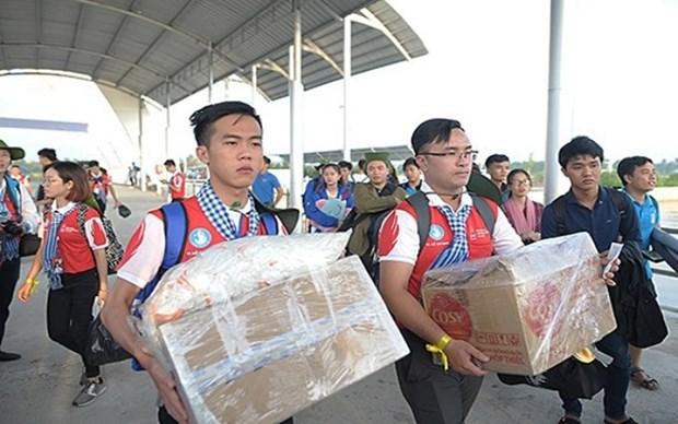 Elevan responsabilidad de jovenes vietnamitas en proteccion de mar y las islas de Patria hinh anh 1