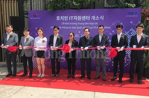 Inauguran nuevo centro de cooperacion tecnologica Vietnam- Corea del Sur hinh anh 1
