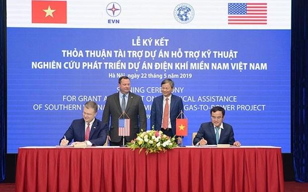 Estados Unidos respalda desarrollo energetico de Vietnam hinh anh 1