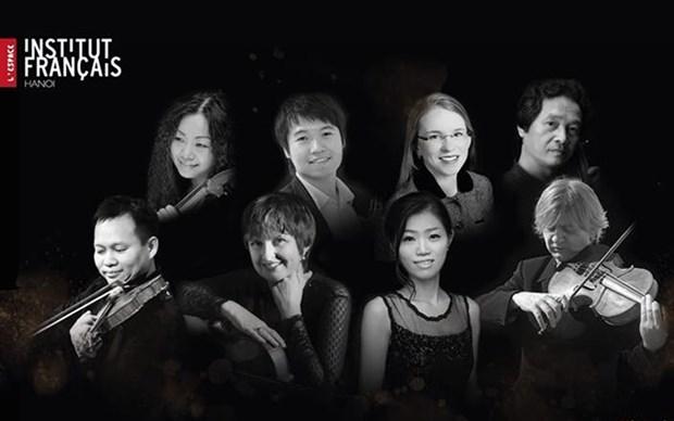 Presentaran en Hanoi un concierto internacional de musica de camara hinh anh 1