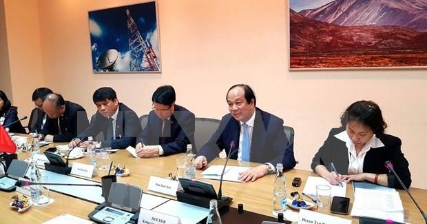 Vietnam y Rusia colaboran en e-gobierno hinh anh 1