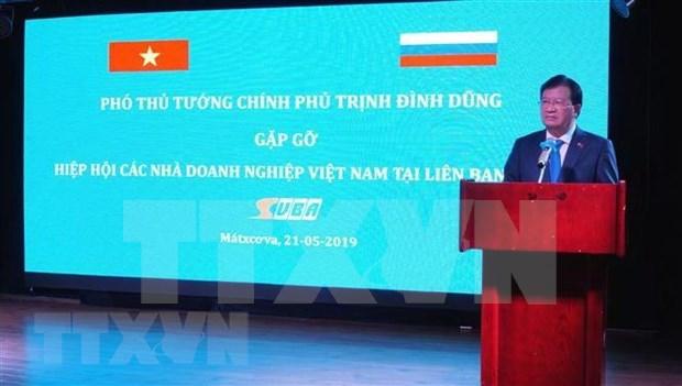 Colaboran Vietnam y Rusia en actividades conmemorativas del 70 aniversario de relaciones hinh anh 1