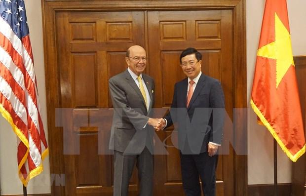 Vietnam y EE.UU. promueven cooperacion economica y defensa hinh anh 1