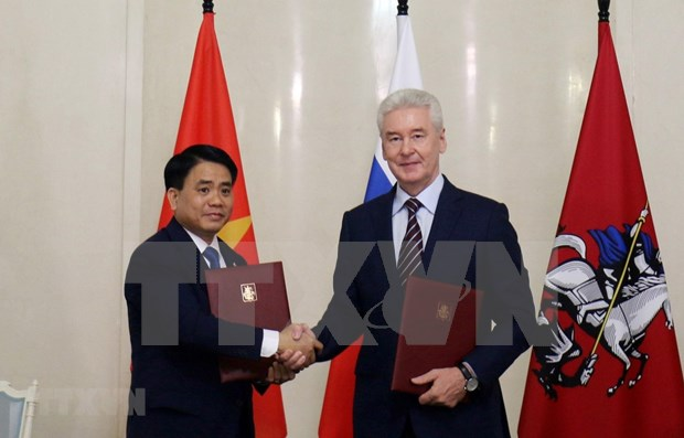 Promueven cooperacion multifacetica entre Hanoi y Moscu hinh anh 1