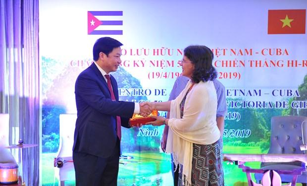 Aspira provincia vietnamita de Ninh Binh a promover cooperacion con localidades de Cuba hinh anh 1