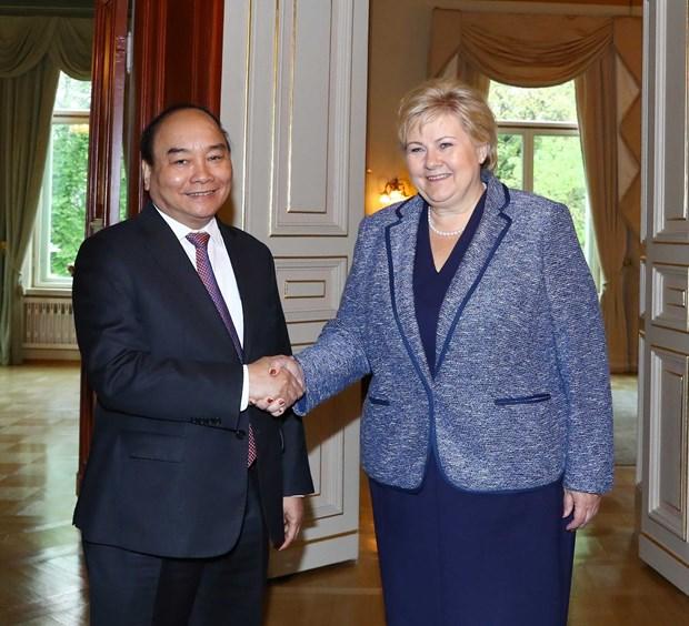 Proyectan Vietnam y Noruega impulsar nexos comerciales hinh anh 1