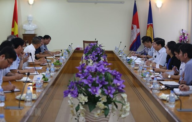 Obsequian a vietnamitas residentes en Camboya hinh anh 1