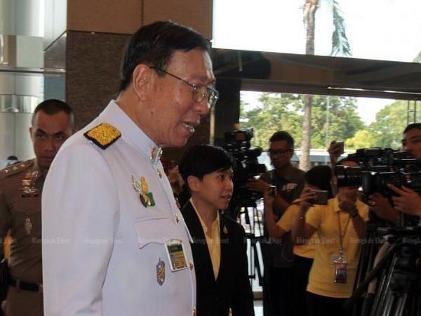 Elegido presidente del Senado de Tailandia hinh anh 1