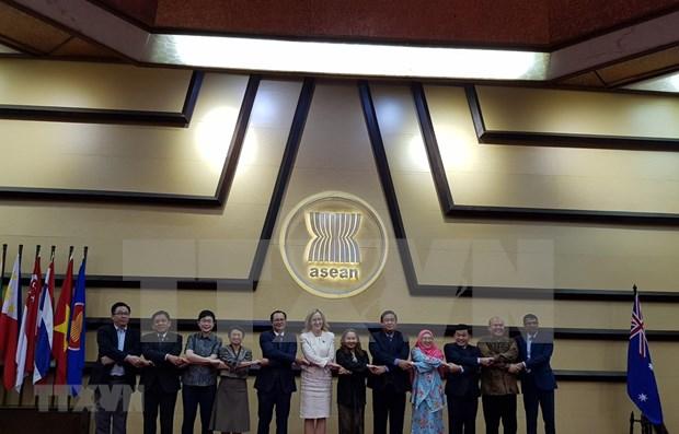 Discuten ASEAN y Australia medidas para vigorizar su asociacion estrategica hinh anh 1