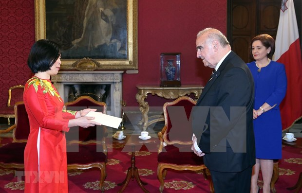 Vietnam aspira a fortalecer cooperacion con Malta en diversos sectores hinh anh 1