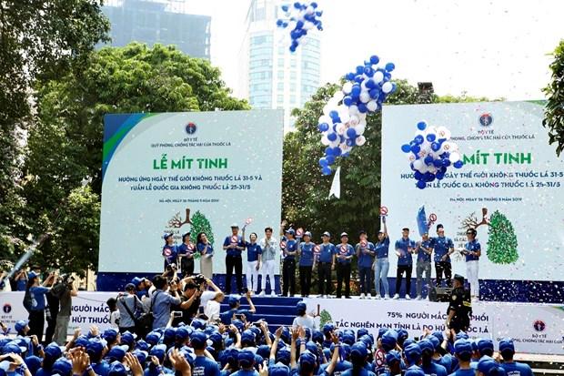 Casi el 97 por ciento de pacientes de cancer de pulmon en Vietnam son fumadores hinh anh 1