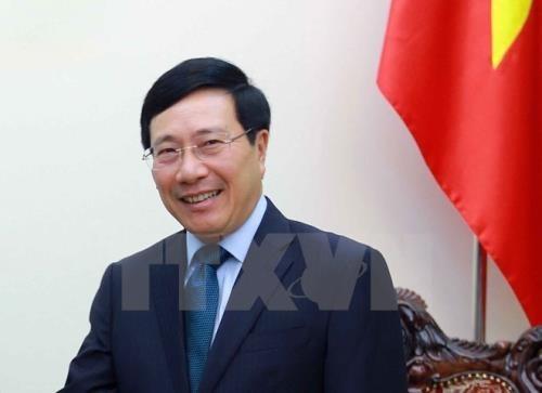 Viajara vicepremier de Vietnam a Japon para participar en Conferencia sobre el Futuro de Asia hinh anh 1