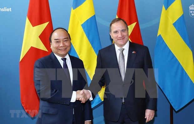 Abogan premieres de Vietnam y Suecia por firma pronta de EVFTA hinh anh 1