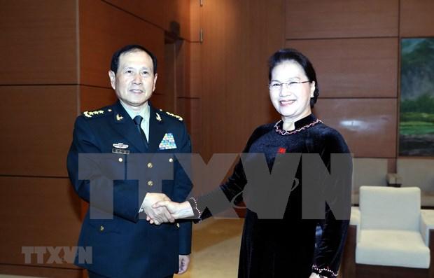 Ratifica maxima legisladora de Vietnam importancia de relaciones con China hinh anh 1