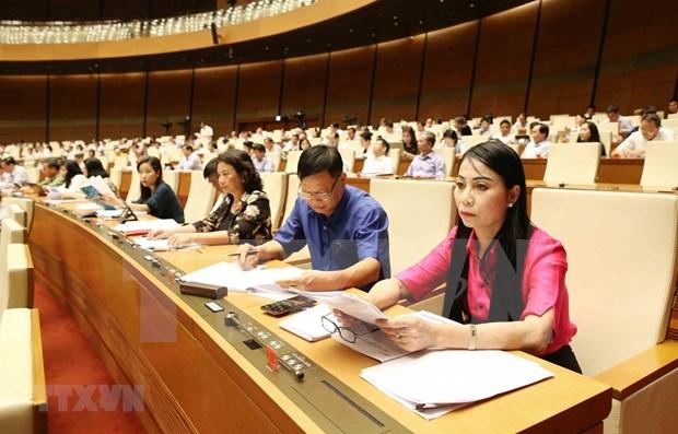 Concluye Parlamento de Vietnam sexta jornada de septimo periodo de sesiones hinh anh 1