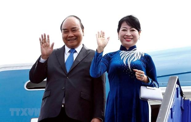 Concluye premier vietnamita visita a Suecia hinh anh 1