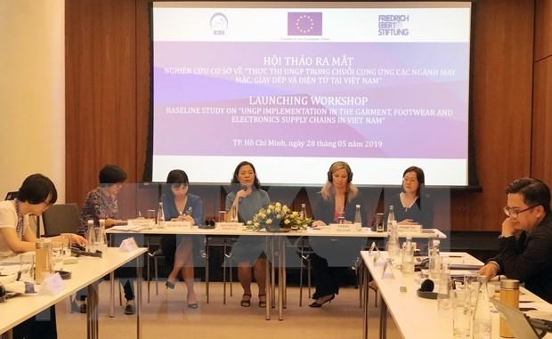 Promueven en Vietnam implementacion de principios rectores de la ONU sobre empresas y derechos humanos hinh anh 1