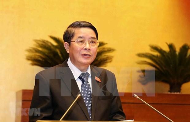 Debaten legisladores vietnamitas sobre ajustes de la inversion publica hinh anh 1