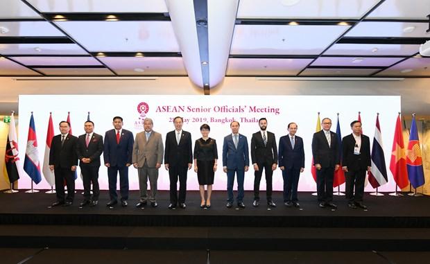 Inauguran en Tailandia reunion de altos funcionarios de la ASEAN hinh anh 1