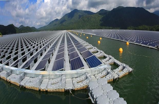 Inaugura Vietnam su primera planta solar flotante hinh anh 1