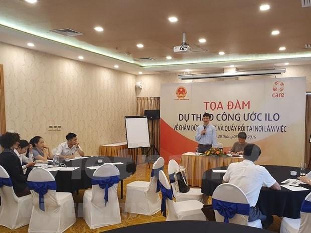 Comprometido Vietnam con la lucha contra el acoso y la violencia en el ambito laboral hinh anh 1