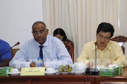 Incrementan cooperacion agropecuaria ciudad vietnamita de Can Tho y Costa de Marfil hinh anh 1