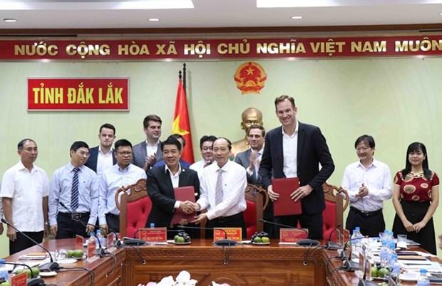 Construiran parque agricola en provincia altiplanica de Vietnam hinh anh 1