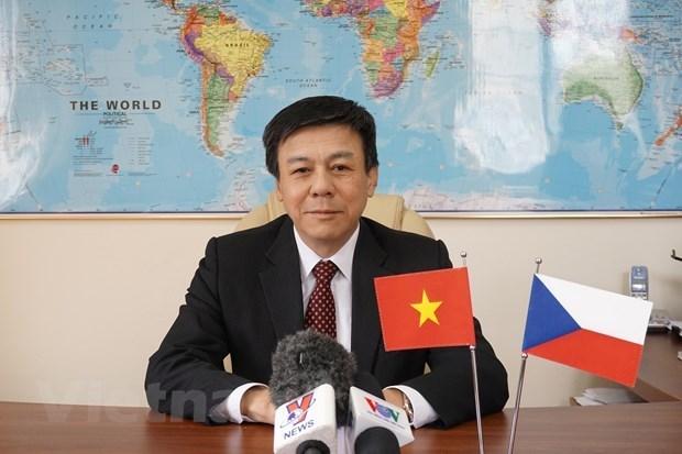 Promueven Vietnam y Republica Checa cooperacion economica hinh anh 1