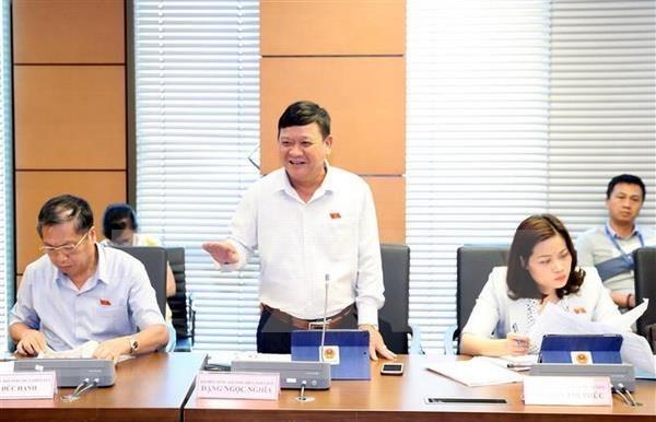 Parlamento de Vietnam examina asignacion de presupuesto para proyectos de inversion publica hinh anh 1
