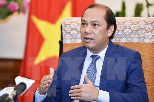 Altos funcionarios discuten la agenda de la 34 Cumbre de ASEAN hinh anh 1
