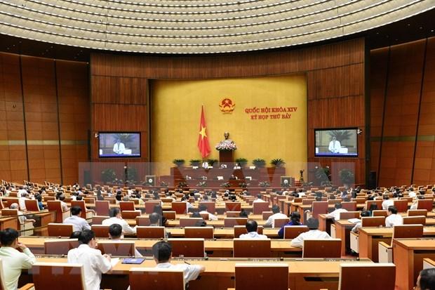 Debate Parlamento de Vietnam ratificacion del Convenio sobre derecho de sindicacion hinh anh 1