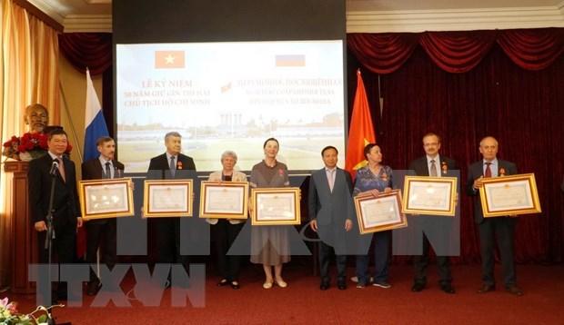 Reconoce Vietnam a expertos rusos por la conservacion de los restos del Presidente Ho Chi Minh hinh anh 1