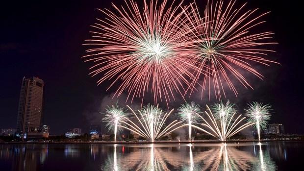 Ciudad vietnamita de Da Nang lista para el Festival Internacional de Fuegos Artificiales hinh anh 1