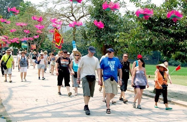 Llegaron a Vietnam 7,3 millones de turistas extranjeros en cinco meses hinh anh 1
