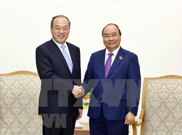 Aboga premier de Vietnam por el impulso de nexos con provincia china de Yunnan hinh anh 1
