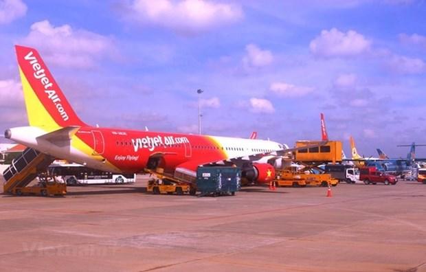 Inaugura aerolinea Vietjet vuelos entre Ciudad Ho Chi Minh a Bali hinh anh 1