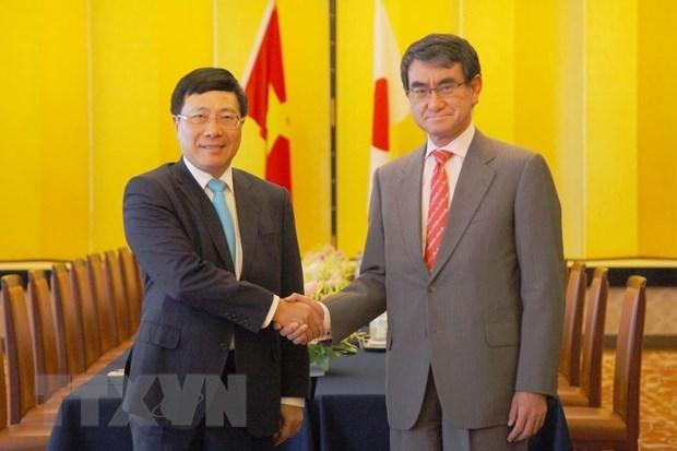 Acuerdan Vietnam y Japon fomentar nexos economicos hinh anh 1