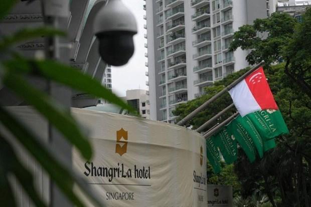 Refuerza Singapur la seguridad para el Dialogo de Shangri-La hinh anh 1