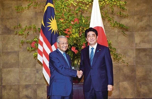 Proyectan Japon y Malasia elevar cooperacion para garantizar la seguridad en region Indo-Pacifico hinh anh 1