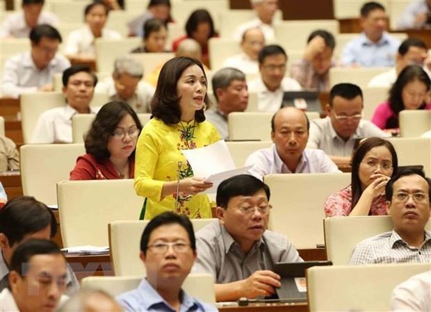 Continua Parlamento vietnamita debates sobre temas socioeconomicos hinh anh 1