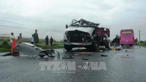 Reportan en Vietnam mas de 500 muertes por accidentes de trafico en mayo hinh anh 1