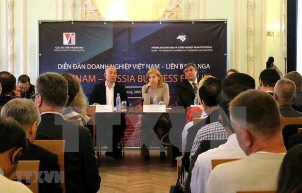 Amplian empresas de Vietnam y Rusia oportunidades de cooperacion hinh anh 1