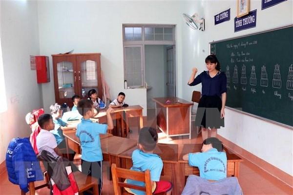 Vietnam emite un proyecto para apoyar a los ninos discapacitados hinh anh 1