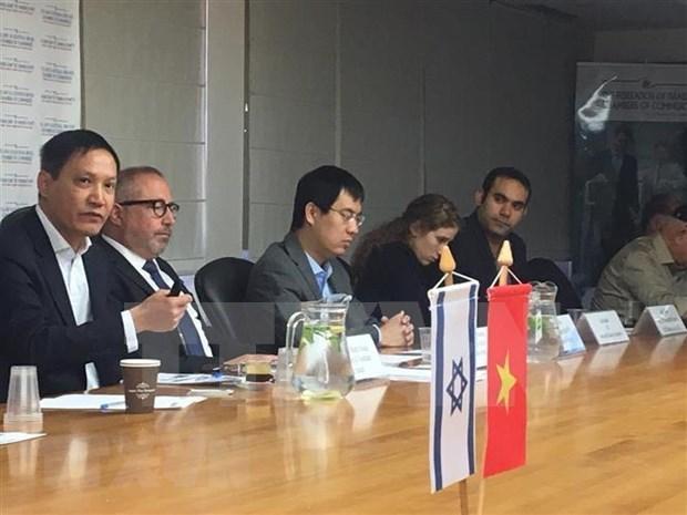 Buscan empresas de Israel ampliar sus negocios con Vietnam hinh anh 1
